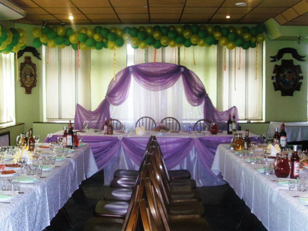 Украшение зала на свадьбу своими руками пошагово фото