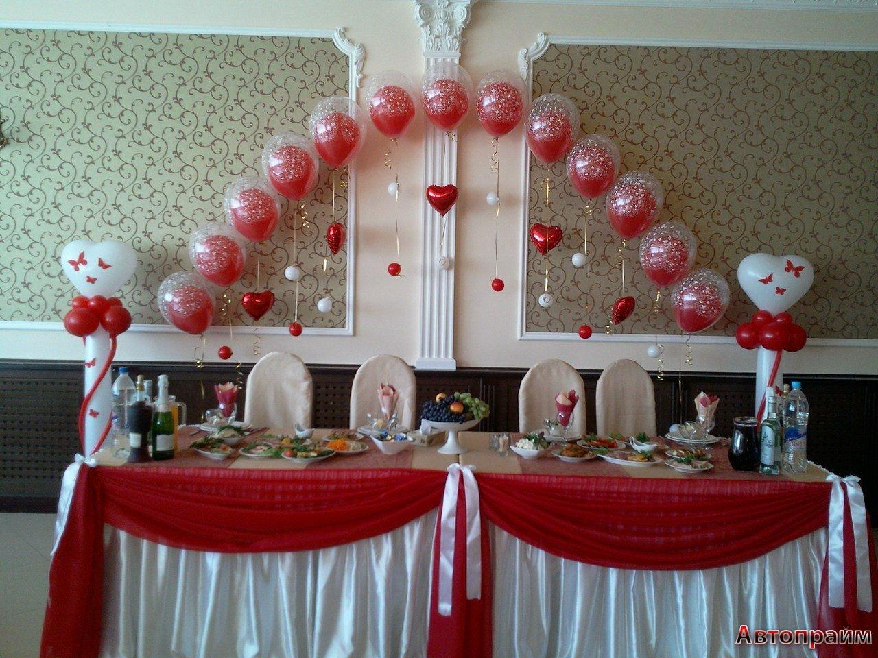 Фото оформление зала на свадьбу своими руками