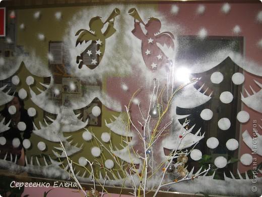 Украшения группы в детском саду на новый год своими руками фото