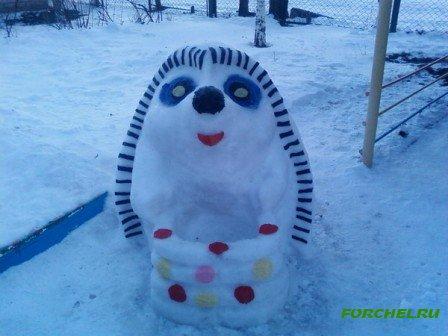 Оформление зимних участков в детском саду своими руками фото
