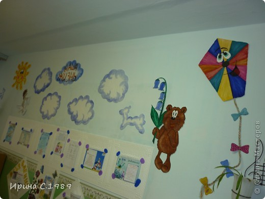 Оформление своими руками в приемных в детском саду